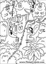 Pintar e Colorir Barbapapa - Desenho 007