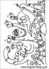 Pintar e Colorir Barbapapa - Desenho 050