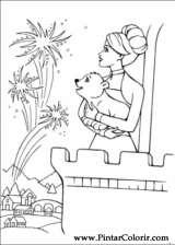 Pintar e Colorir Barbie Pegaso Magico - Desenho 005