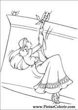 Pintar e Colorir Barbie Pegaso Magico - Desenho 014