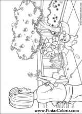 Pintar e Colorir Barbie Polegar - Desenho 008