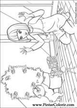 Pintar e Colorir Barbie Polegar - Desenho 017