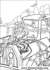 Pintar e Colorir Barbie Polegar - Desenho 026