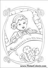Pintar e Colorir Barbie Princesa - Desenho 002