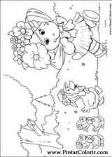 Pintar e Colorir Barney - Desenho 012