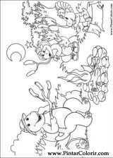 Pintar e Colorir Barney - Desenho 023