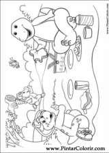 Pintar e Colorir Barney - Desenho 026