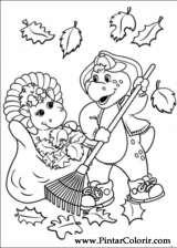 Pintar e Colorir Barney - Desenho 029