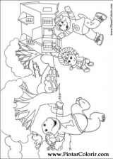 Pintar e Colorir Barney - Desenho 030