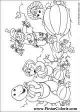 Pintar e Colorir Barney - Desenho 032
