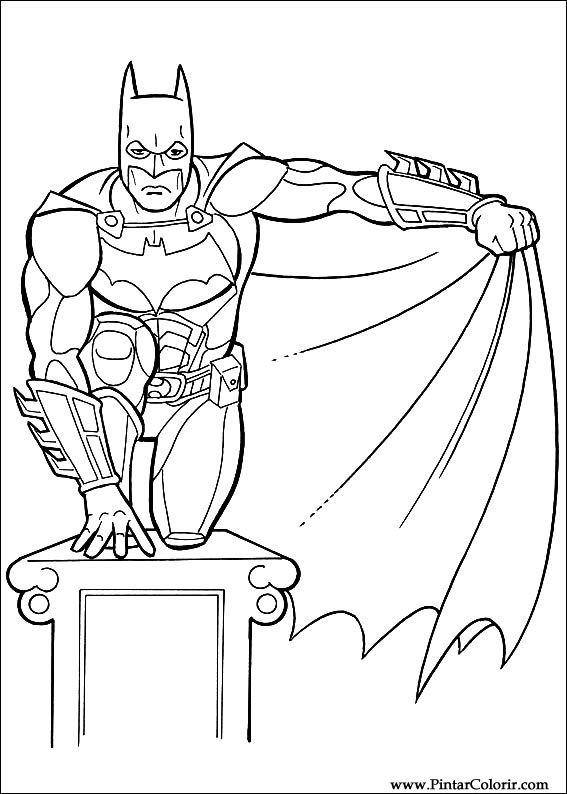 çizimler Boya Ve Renk Batman Için Baskı Tasarım 016