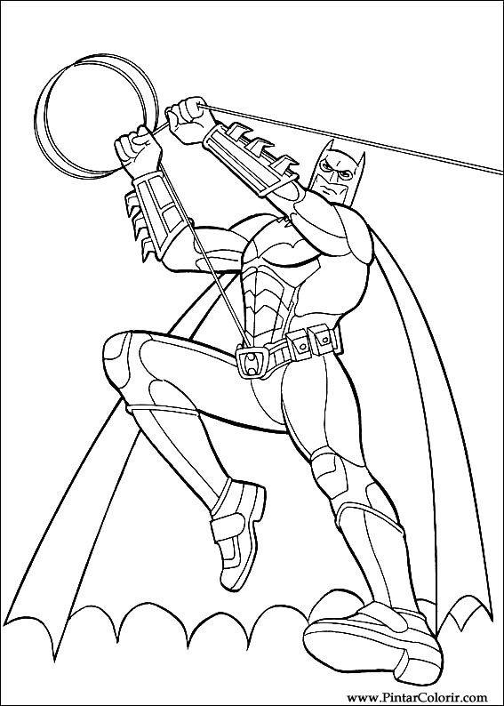 çizimler Boya Ve Renk Batman Için Baskı Tasarım 038