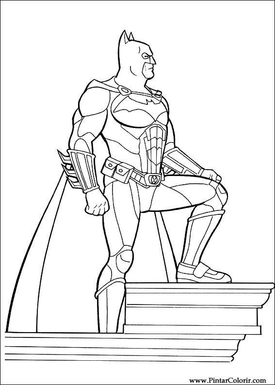 çizimler Boya Ve Renk Batman Için Baskı Tasarım 045