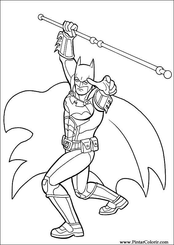 çizimler Boya Ve Renk Batman Için Baskı Tasarım 046