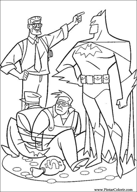 çizimler Boya Ve Renk Batman Için Baskı Tasarım 055