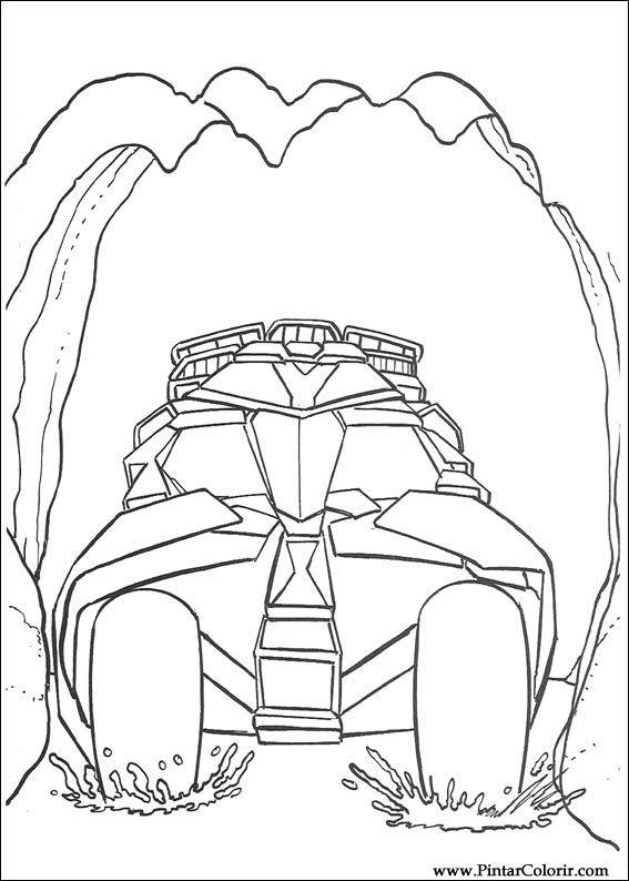 çizimler Boya Ve Renk Batman Için Baskı Tasarım 098