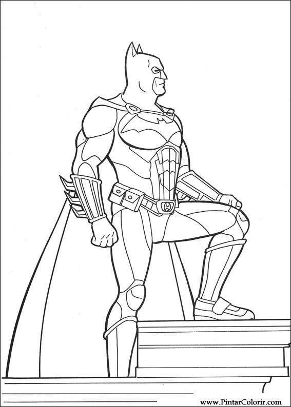 çizimler Boya Ve Renk Batman Için Baskı Tasarım 105