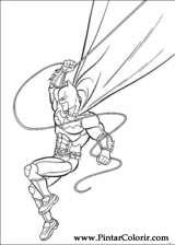 Pintar e Colorir Batman - Desenho 006