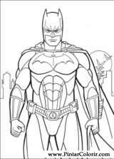 çizimler Boya Ve Renk Batman Için Baskı Tasarım 033