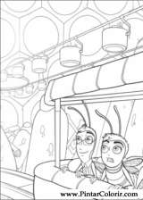 Pintar e Colorir Bee Movie - Desenho 002