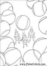 Pintar e Colorir Bee Movie - Desenho 007