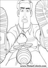 Pintar e Colorir Bee Movie - Desenho 012