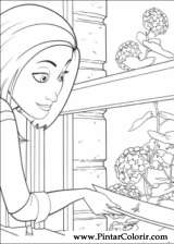 Pintar e Colorir Bee Movie - Desenho 013