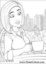 Pintar e Colorir Bee Movie - Desenho 014