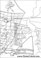 Pintar e Colorir Bee Movie - Desenho 019