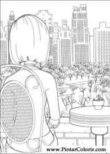 Pintar e Colorir Bee Movie - Desenho 030