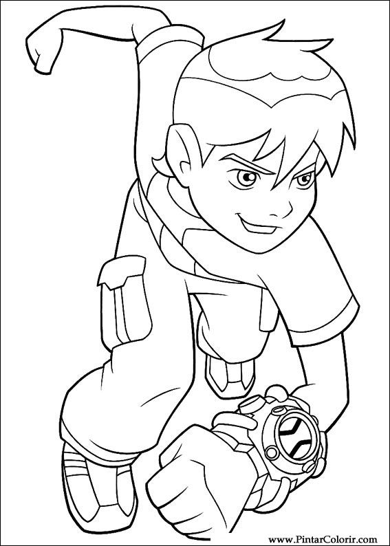 ben 10 omniverse coloring pages printable | Coloring pages ... | 794x567