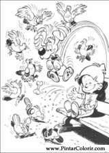 Pintar e Colorir Boule E Bill - Desenho 005
