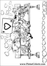 Pintar e Colorir Boule E Bill - Desenho 012