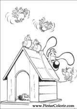 Pintar e Colorir Boule E Bill - Desenho 013