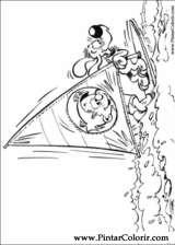 Pintar e Colorir Boule E Bill - Desenho 017