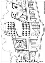 Pintar e Colorir Bratz - Desenho 033