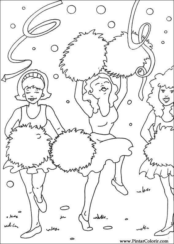 Desenhos Para Pintar E Colorir Carnaval Imprimir Desenho 001