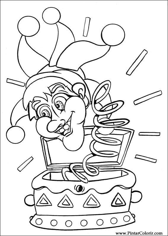 Desenhos Para Pintar E Colorir Carnaval Imprimir Desenho 002