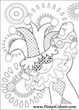 Pintar e Colorir Carnaval - Desenho 006