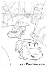 Pintar e Colorir Carros - Desenho 101