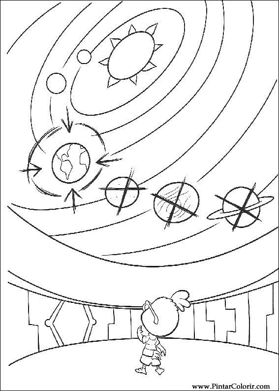solar system coloring pages - 650×912