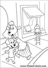 Pintar e Colorir Chicken Little - Desenho 001