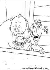 Pintar e Colorir Chicken Little - Desenho 007