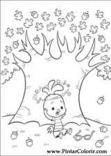 Pintar e Colorir Chicken Little - Desenho 022