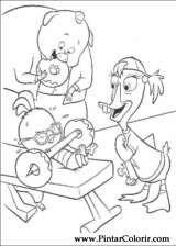 Pintar e Colorir Chicken Little - Desenho 036