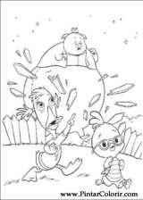 Pintar e Colorir Chicken Little - Desenho 052