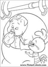 Pintar e Colorir Chicken Little - Desenho 057