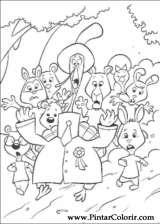 Pintar e Colorir Chicken Little - Desenho 066