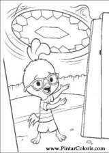 Pintar e Colorir Chicken Little - Desenho 067