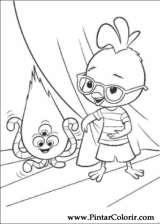 Pintar e Colorir Chicken Little - Desenho 075